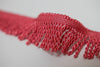 "1.5"" Red Bullion Fringe"