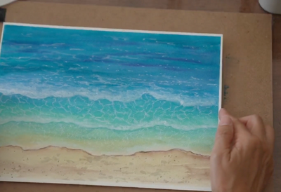 Wave Watercolor