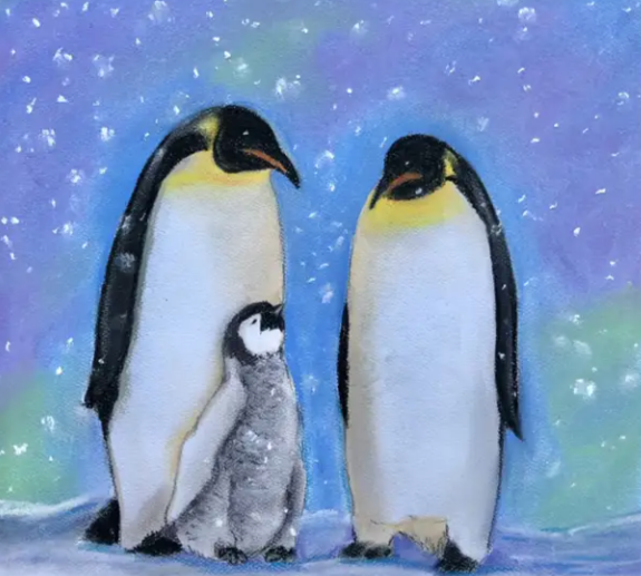 Penguin Chalk Pastel