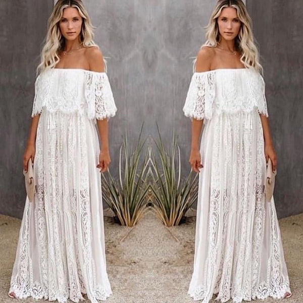 Preorder - All Over Lace Maxi Dress