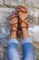 Gladiator Buckle Up Sandals