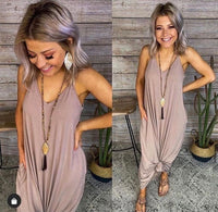 Solid Mocha Maxi With Pockets