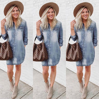 Best Ever Denim Dress