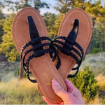 Multi Braid Sandals