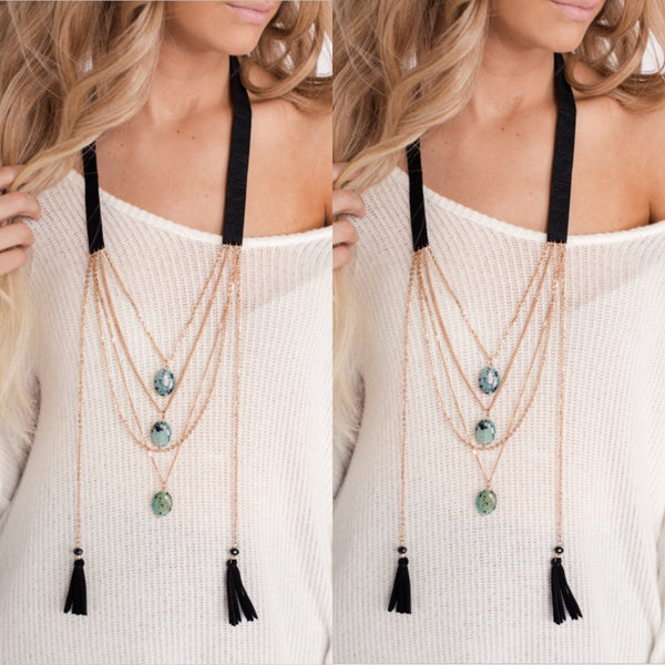 Boho Love Layered Necklace