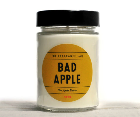 Bad Apple Soy Candle - Hot Apple Butter Scented