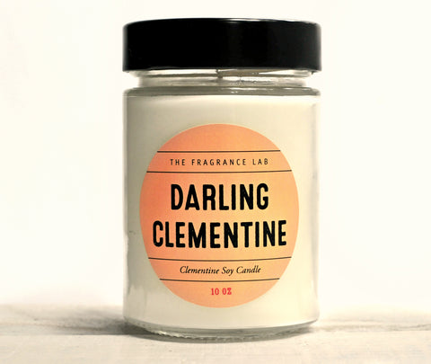 "Soy Candles - ""Darling Clementine"" Clementine Scented"