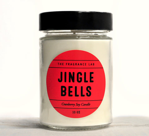 """Jingle Bells"" - Cranberry Soy Candle"