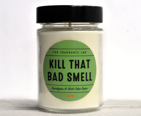 "Soy Candles - ""Kill That Bad Smell"" Odor Eliminator Scented"