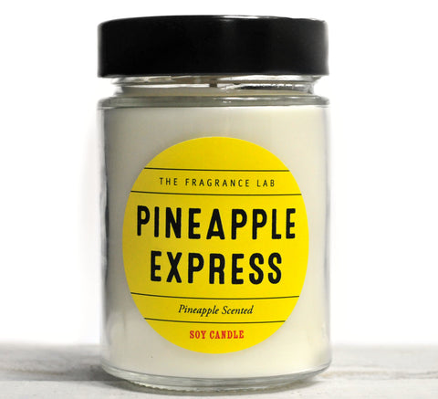 Pineapple Express Soy Candle - Pineapple Scented