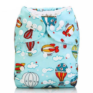 """Owl"" Washable Diaper"