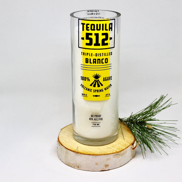 Liquor Bottle Candles