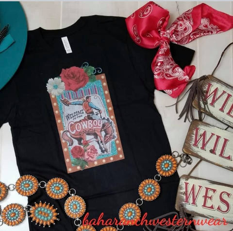 Cowboy Ranch Tee (Girls)