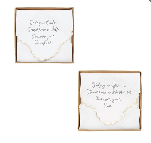 Wedding Day Hankies
