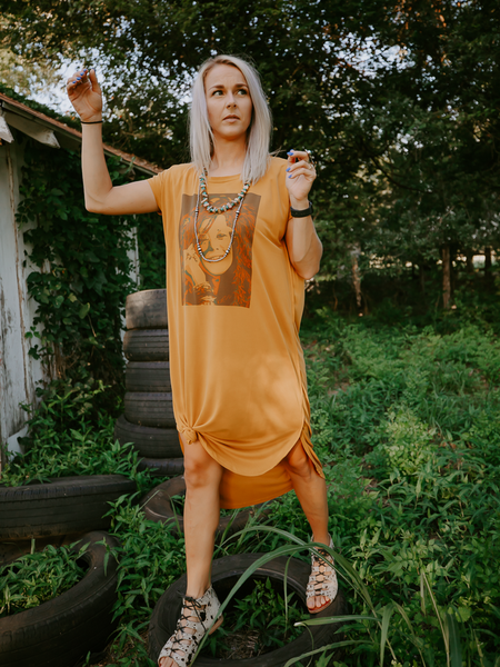 Janis Joplin T-Shirt Dress