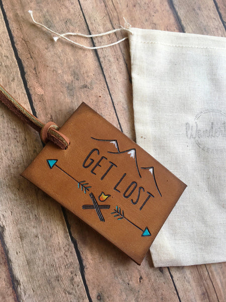 Leather Bag Tags