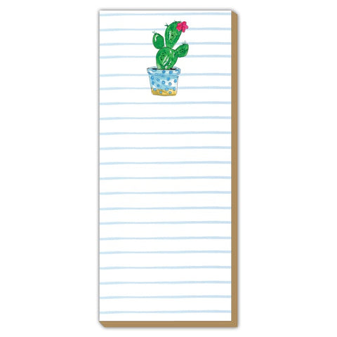 Cactus Lux Living Notepad