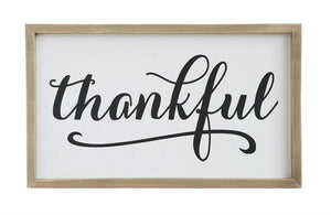 Thankful Wall Art