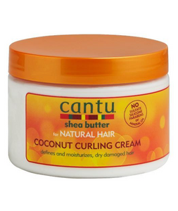 Natural Hair - Coconut Curling Cream 12 Oz.