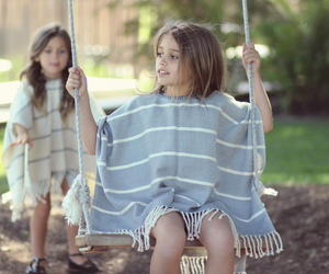 Toddler Poncho Style Dress