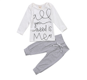 Baby All You Need is Me Outfit