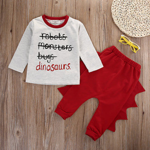 Toddler 2-Piece Dino Outfit