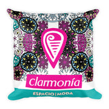 Clarmonias Square Pillow