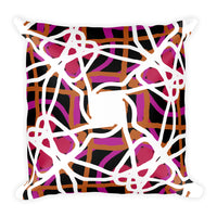 Serpentinas Square Pillow