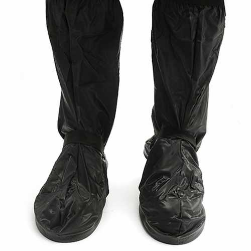 Motorcycle Waterproof Rain Shoes Covers Thicker Scootor Non-slip Boots Covers