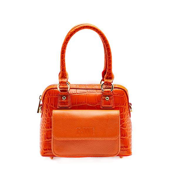 Nikki Mini Orange Bag