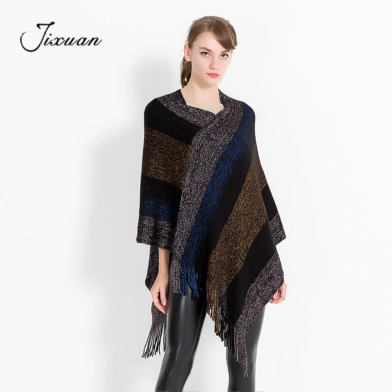2018 New Fashion Cotton Winter Scarf Women Soft Wool knitted Pashmina