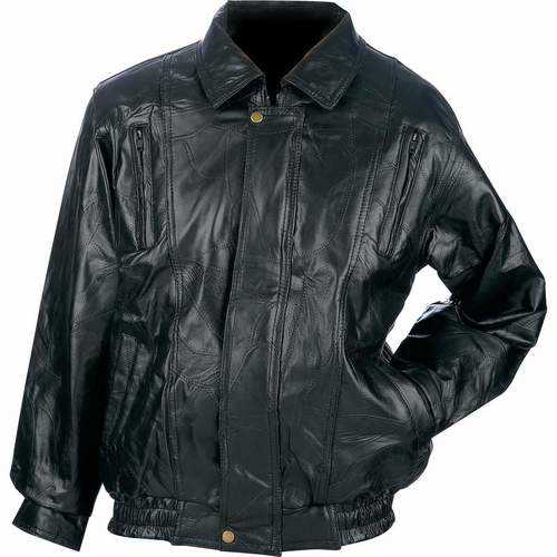 Genuine Top Grain Lambskin Leather Jacket