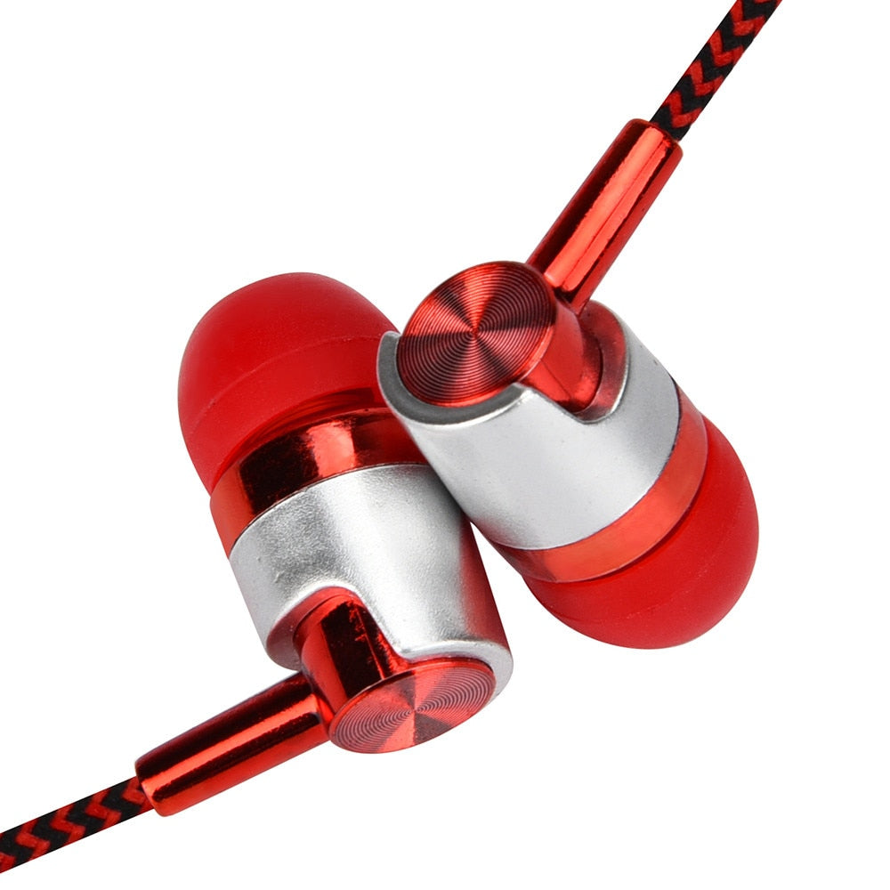 High Quality In Ear Mobile Universal 3.5mm In-Ear Stereo Earbuds