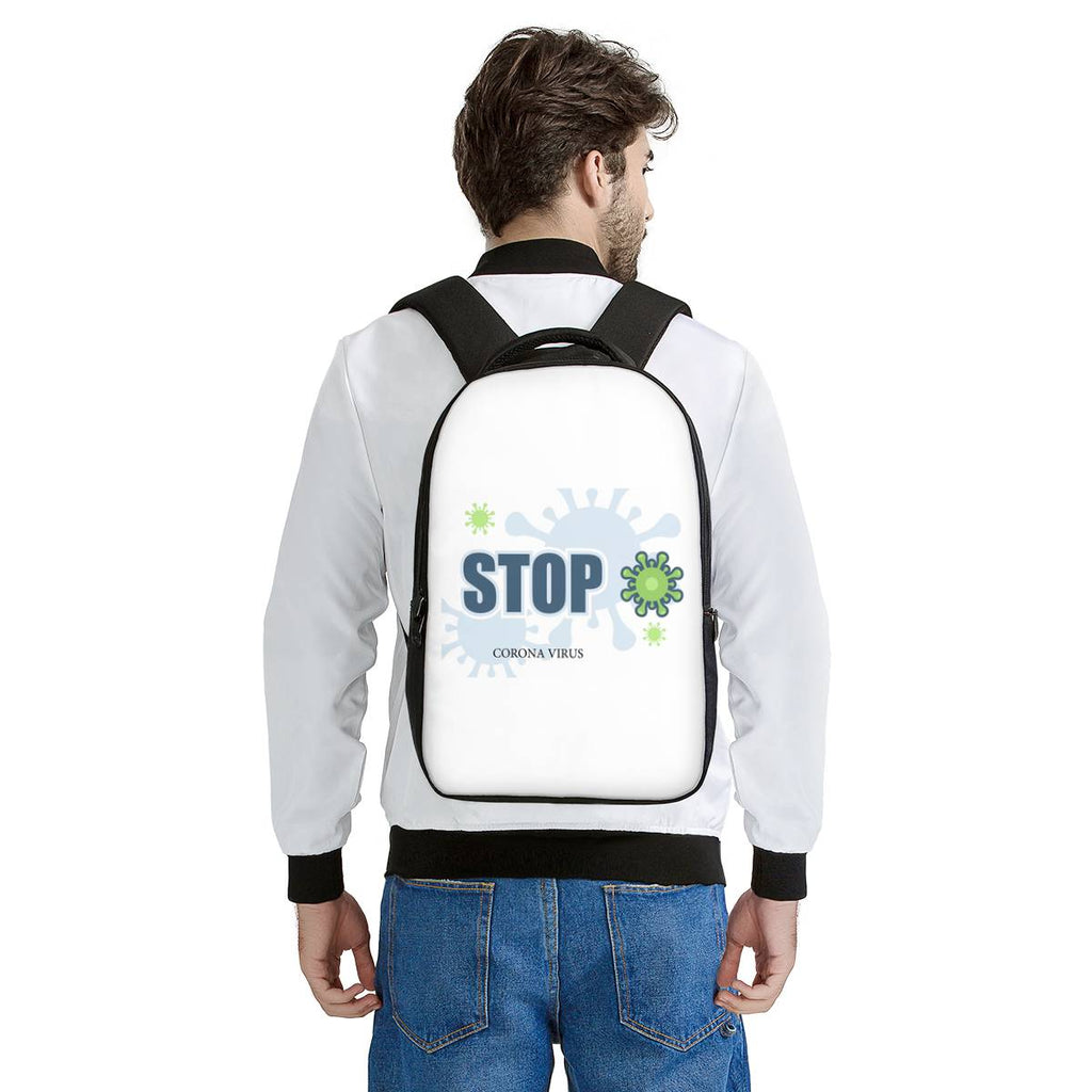 STOP CORONAVIRUS Laptop Backpack