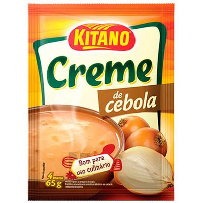 Creme de cebola( Kitano)/ cream onion soup