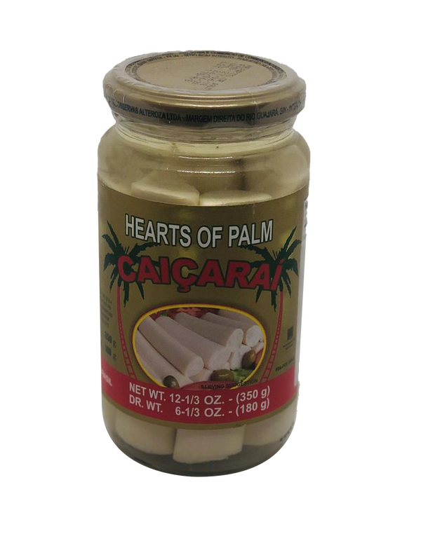 Palmito caiçaraí (350g)/heart of palm