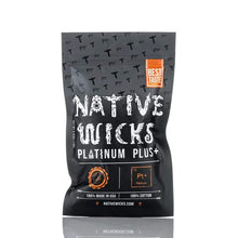 Native Wicks Platinum Plus, Best cotton for flavor, best cotton for clouds, alien coil staple coil best coils for flavor