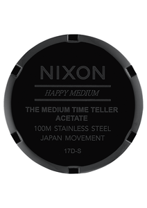 MEDIUM TIME TELLER ACETATE, 31 MM