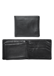CARTERA SATELLITE BIG BILL BI FOLD BLACK