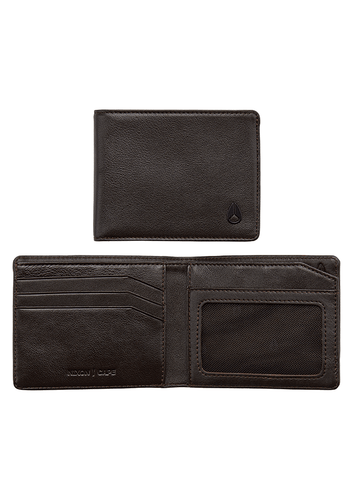 CARTERA ESCAPE BI FOLD CLIP WALLET BROWN