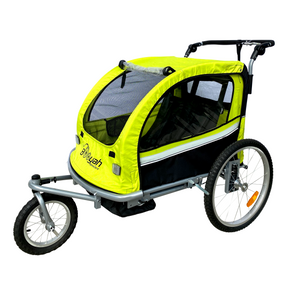 Booyah Baby Bike Trailer and Stroller II – Green