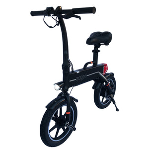 Mini Adult Electric Bike by Soljer - Black