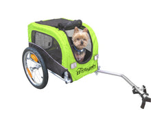 Booyah Small Pet Trailer - Fluorescent Green