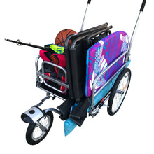Cargo Beach Cart Stroller and Bike Trailer.