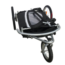 MB Booyah Baby Bike Trailer and Stroller Child II – Black