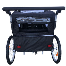 Booyah Baby Bike Trailer and Stroller Child II – Black
