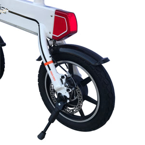 Mini Adult Electric Bike by Soljer - White