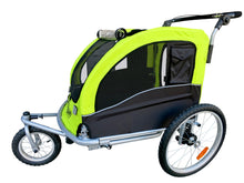 MB Large Pet Stroller and Trailer with Suspension - Orange MB- PRESALE Shipping 5/27/20