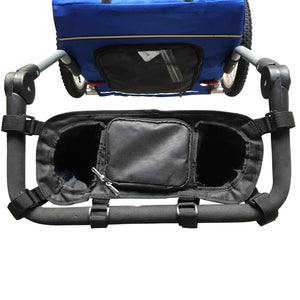 Stroller Organizer and Cup Holder for MEDIUM pet stroller