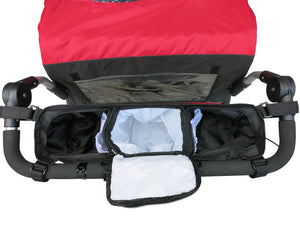 Booyah Organizer for Large Pet Stroller. NOT for Jogger NOR Bob Duallie